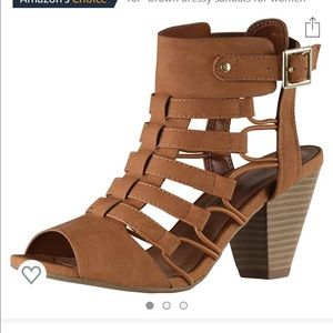 City Classified Cage Heels
